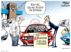 Cartoonist Gary Varvel  Gary Varvel's Editorial Cartoons 2009-05-20 regulation