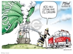 Cartoonist Gary Varvel  Gary Varvel's Editorial Cartoons 2009-07-01 regulation