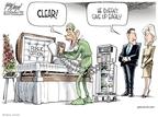 Cartoonist Gary Varvel  Gary Varvel's Editorial Cartoons 2009-08-18 human