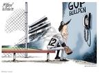 Cartoonist Gary Varvel  Gary Varvel's Editorial Cartoons 2010-04-06 baseball player