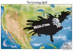 Cartoonist Gary Varvel  Gary Varvel's Editorial Cartoons 2010-04-30 regulation