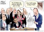 Cartoonist Gary Varvel  Gary Varvel's Editorial Cartoons 2010-07-23 2012 election economy