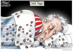 Cartoonist Gary Varvel  Gary Varvel's Editorial Cartoons 2010-09-04 sleep