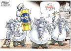 Cartoonist Gary Varvel  Gary Varvel's Editorial Cartoons 2010-09-26 pork-barrel