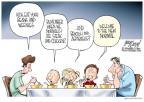 Cartoonist Gary Varvel  Gary Varvel's Editorial Cartoons 2010-10-02 family
