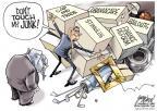 Cartoonist Gary Varvel  Gary Varvel's Editorial Cartoons 2010-11-21 trade