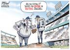Cartoonist Gary Varvel  Gary Varvel's Editorial Cartoons 2010-12-16 baseball pitcher