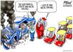 Cartoonist Gary Varvel  Gary Varvel's Editorial Cartoons 2011-11-07 2012 election economy