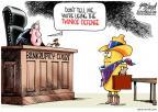 Gary Varvel  Gary Varvel's Editorial Cartoons 2012-01-13 judge