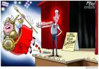 Cartoonist Gary Varvel  Gary Varvel's Editorial Cartoons 2012-02-13 over