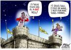 Cartoonist Gary Varvel  Gary Varvel's Editorial Cartoons 2012-06-24 2012 election economy