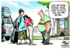 Cartoonist Gary Varvel  Gary Varvel's Editorial Cartoons 2012-08-10 student