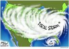 Cartoonist Gary Varvel  Gary Varvel's Editorial Cartoons 2012-08-28 2012 election economy