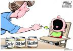 Cartoonist Gary Varvel  Gary Varvel's Editorial Cartoons 2012-09-16 parenting