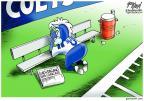 Cartoonist Gary Varvel  Gary Varvel's Editorial Cartoons 2012-10-02 coach