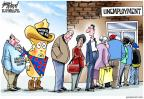 Cartoonist Gary Varvel  Gary Varvel's Editorial Cartoons 2012-11-17 unemployment