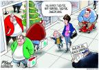 Cartoonist Gary Varvel  Gary Varvel's Editorial Cartoons 2012-12-12 obesity