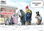 Cartoonist Gary Varvel  Gary Varvel's Editorial Cartoons 2013-03-26 unemployment
