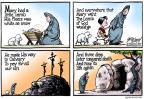 Cartoonist Gary Varvel  Gary Varvel's Editorial Cartoons 2013-03-31 snow day