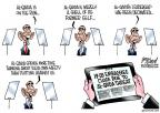 Cartoonist Gary Varvel  Gary Varvel's Editorial Cartoons 2013-08-07 presidential leadership