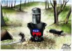 Cartoonist Gary Varvel  Gary Varvel's Editorial Cartoons 2013-10-17 conservatism