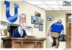 Cartoonist Gary Varvel  Gary Varvel's Editorial Cartoons 2013-10-18 athletics