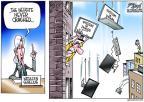 Cartoonist Gary Varvel  Gary Varvel's Editorial Cartoons 2013-10-31 never