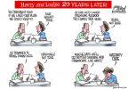 Cartoonist Gary Varvel  Gary Varvel's Editorial Cartoons 2013-11-03 500