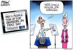 Cartoonist Gary Varvel  Gary Varvel's Editorial Cartoons 2013-11-04 human