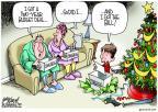 Cartoonist Gary Varvel  Gary Varvel's Editorial Cartoons 2013-12-19 two