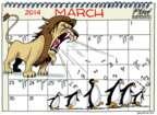 Cartoonist Gary Varvel  Gary Varvel's Editorial Cartoons 2014-03-27 2014