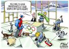 Cartoonist Gary Varvel  Gary Varvel's Editorial Cartoons 2014-04-07 2014 Olympics