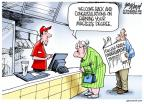 Cartoonist Gary Varvel  Gary Varvel's Editorial Cartoons 2014-05-22 student