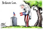 Cartoonist Gary Varvel  Gary Varvel's Editorial Cartoons 2014-05-26 remembrance