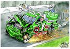 Cartoonist Gary Varvel  Gary Varvel's Editorial Cartoons 2014-07-23 scandal