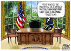 Cartoonist Gary Varvel  Gary Varvel's Editorial Cartoons 2014-07-28 presidential leadership