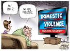 Cartoonist Gary Varvel  Gary Varvel's Editorial Cartoons 2014-09-19 child
