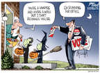 Cartoonist Gary Varvel  Gary Varvel's Editorial Cartoons 2014-10-27 run