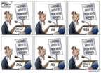 Cartoonist Gary Varvel  Gary Varvel's Editorial Cartoons 2015-03-15 scandal