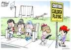 Cartoonist Gary Varvel  Gary Varvel's Editorial Cartoons 2015-04-13 child