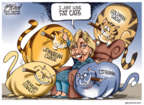 Cartoonist Gary Varvel  Gary Varvel's Editorial Cartoons 2016-04-24 cat