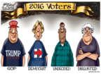 Cartoonist Gary Varvel  Gary Varvel's Editorial Cartoons 2016-10-31 republican candidate