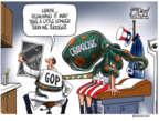 Cartoonist Gary Varvel  Gary Varvel's Editorial Cartoons 2017-02-27 health care repeal