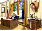 Cartoonist Gary Varvel  Gary Varvel's Editorial Cartoons 2017-05-12 James Comey