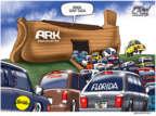Cartoonist Gary Varvel  Gary Varvel's Editorial Cartoons 2017-09-07 Noah's Ark
