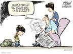 Cartoonist Gary Varvel  Gary Varvel's Editorial Cartoons 2007-09-14 dope