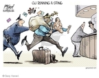 Cartoonist Gary Varvel  Gary Varvel's Editorial Cartoons 2007-09-18 collectible