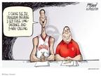 Cartoonist Gary Varvel  Gary Varvel's Editorial Cartoons 2007-11-01 coach