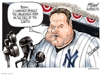 Cartoonist Gary Varvel  Gary Varvel's Editorial Cartoons 2008-01-09 baseball player