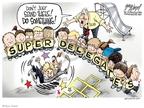 Cartoonist Gary Varvel  Gary Varvel's Editorial Cartoons 2008-04-21 delegate